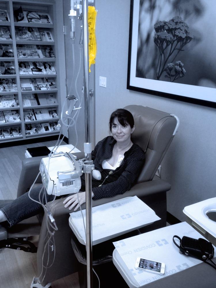 Taking chemo
