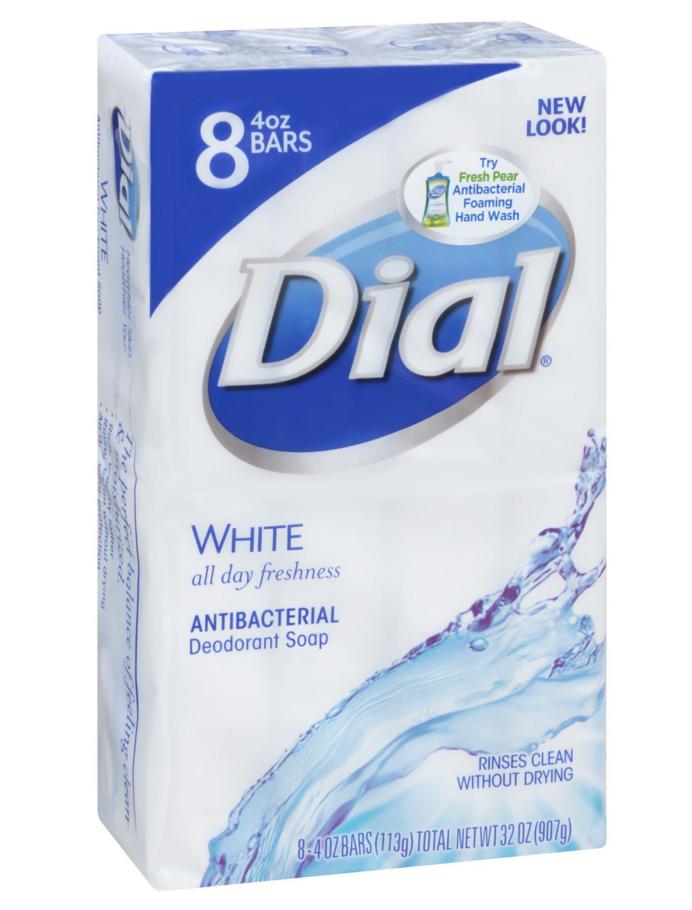Dial White barsoap