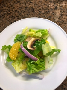 Mushroom and Orange Salad with Cumin Vinaigrette