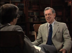 Bill Moyers interviews Joseph Campbell for THe Power of Myth series on PBS.