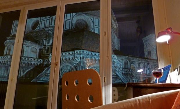 Il Duomo next to me at night
