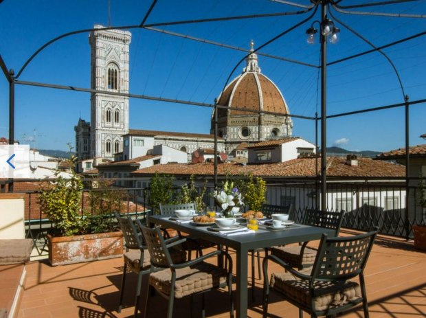 Room with a View Milord Apartment terrace view of il duomo
