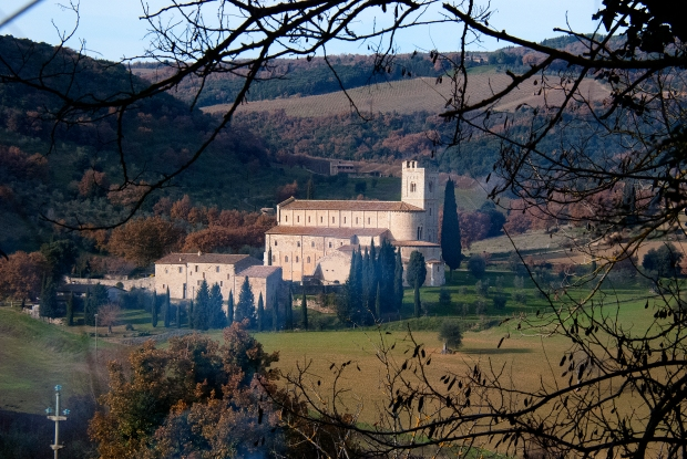 The Abbey church of Sant'Antimo