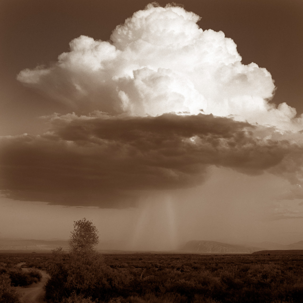 Storm from Dugout Wells by James Evans