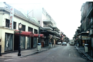 Al Hirt's Club on Bourbon Street, around 1977.