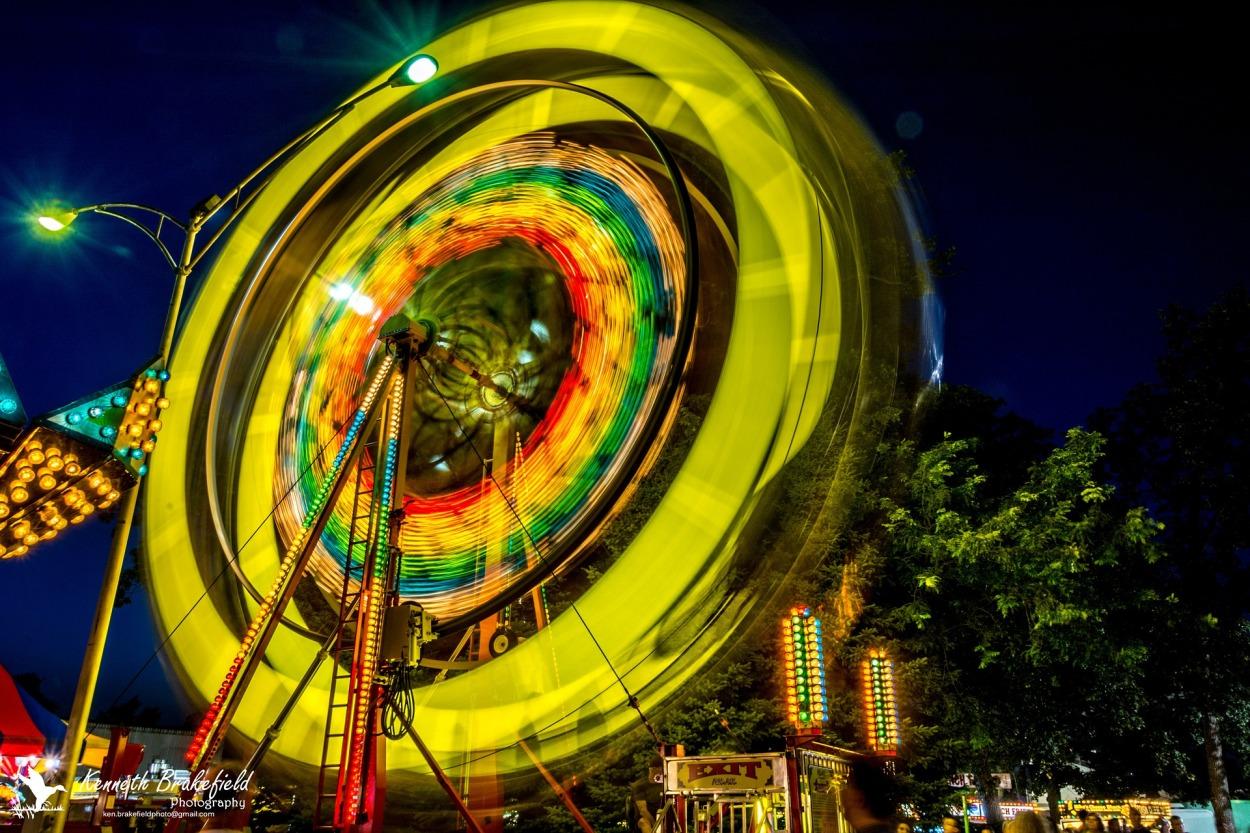 Spinning Carnival Ride