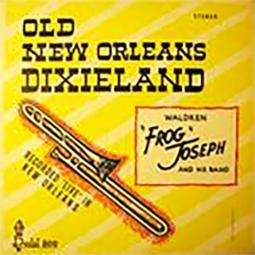 """Waldren """"Frog"""" Joseph gave Clint a jazz send-off."""