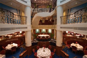 Dining Room of the Royal Clipper