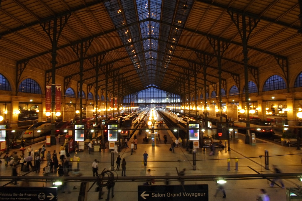 Gare du Nord in Paris.