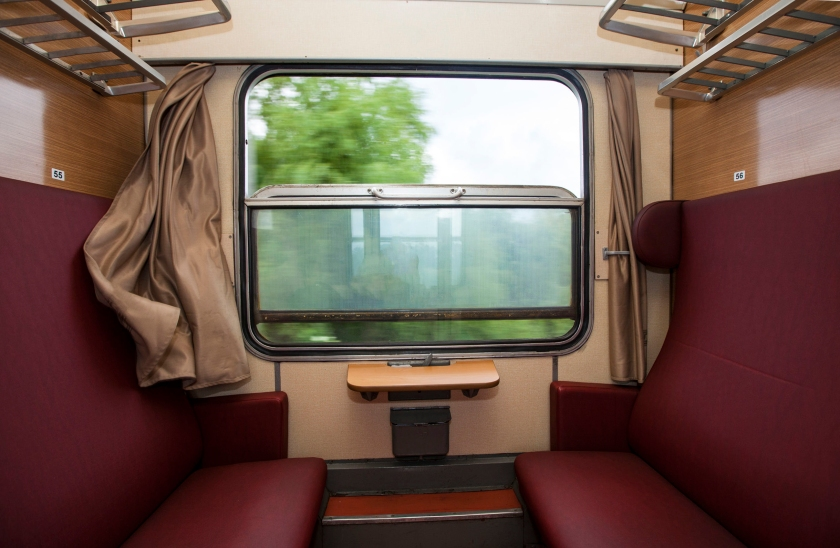 Train compartment,Copyright habrda / 123RF Stock Photo