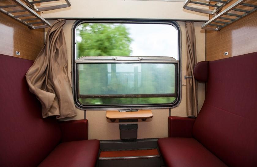 Train compartment,Copyright habrda / 123RF Stock Photo