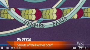 Secrets of the Hermes Scarf