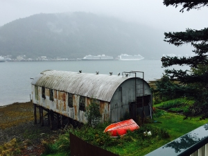 One view from the Beachside Villas, on Douglas Island, across from Juneau.