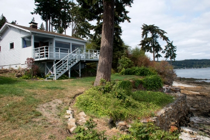 The cottage on West Puget Sound, Rich Passage.