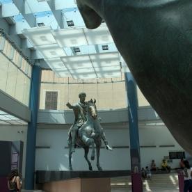 Capitoline Museum, Marcus Aurelius. Photograph, Ann Fisher.