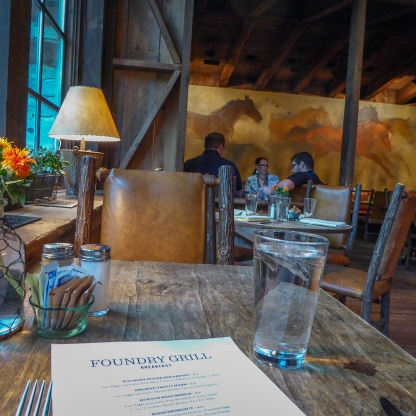 The Foundry Grill, Sundance Mountain Resort