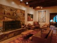 The Tree Room Library, Sundance Resort. Photograph, Ann Fisher.