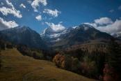 Mount Timpanagos shot from the Sundance Lift