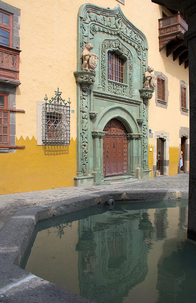 Columbus House in Las Palmas, GranCanaria.