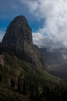 Roque de Agando (Agando Rock), La Gomera.