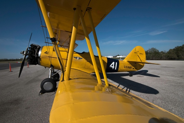 Navy Canary Bi-plane