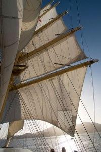 Royal Clipper Sail Away