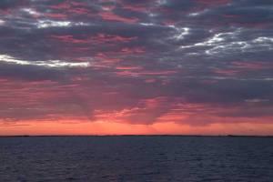 Sunrise on Aransas Bay