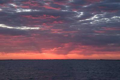 Sunrise on Aransas Bay