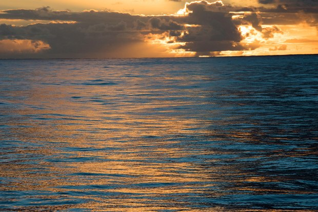 Sunset Atlantic Ocean from the Star Fyer
