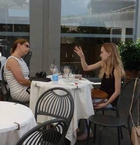 Cafe at the Uffizi