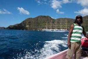 Water Taxi from Soufriere