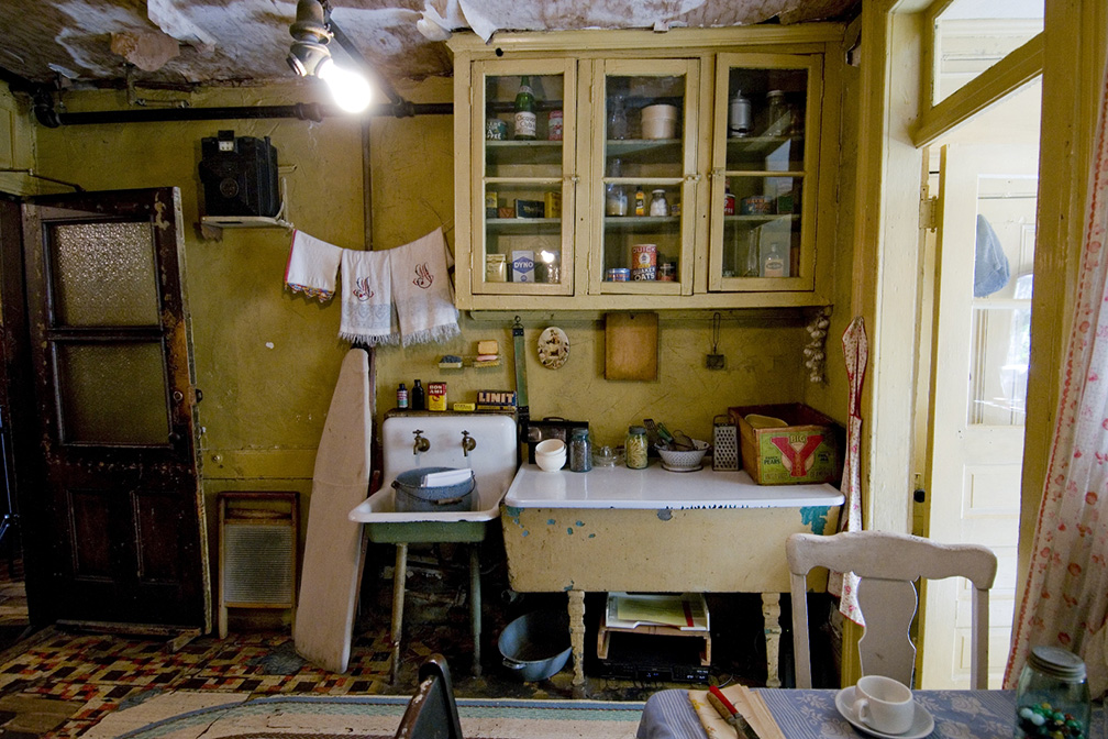 The Baldizzi Apartment at the Tenement Museum