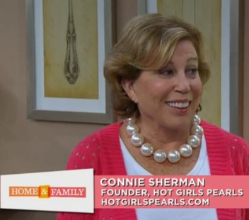 Connie Sherman, owner of Hot Girls Pearls, talks about how she came up with the idea for her product.