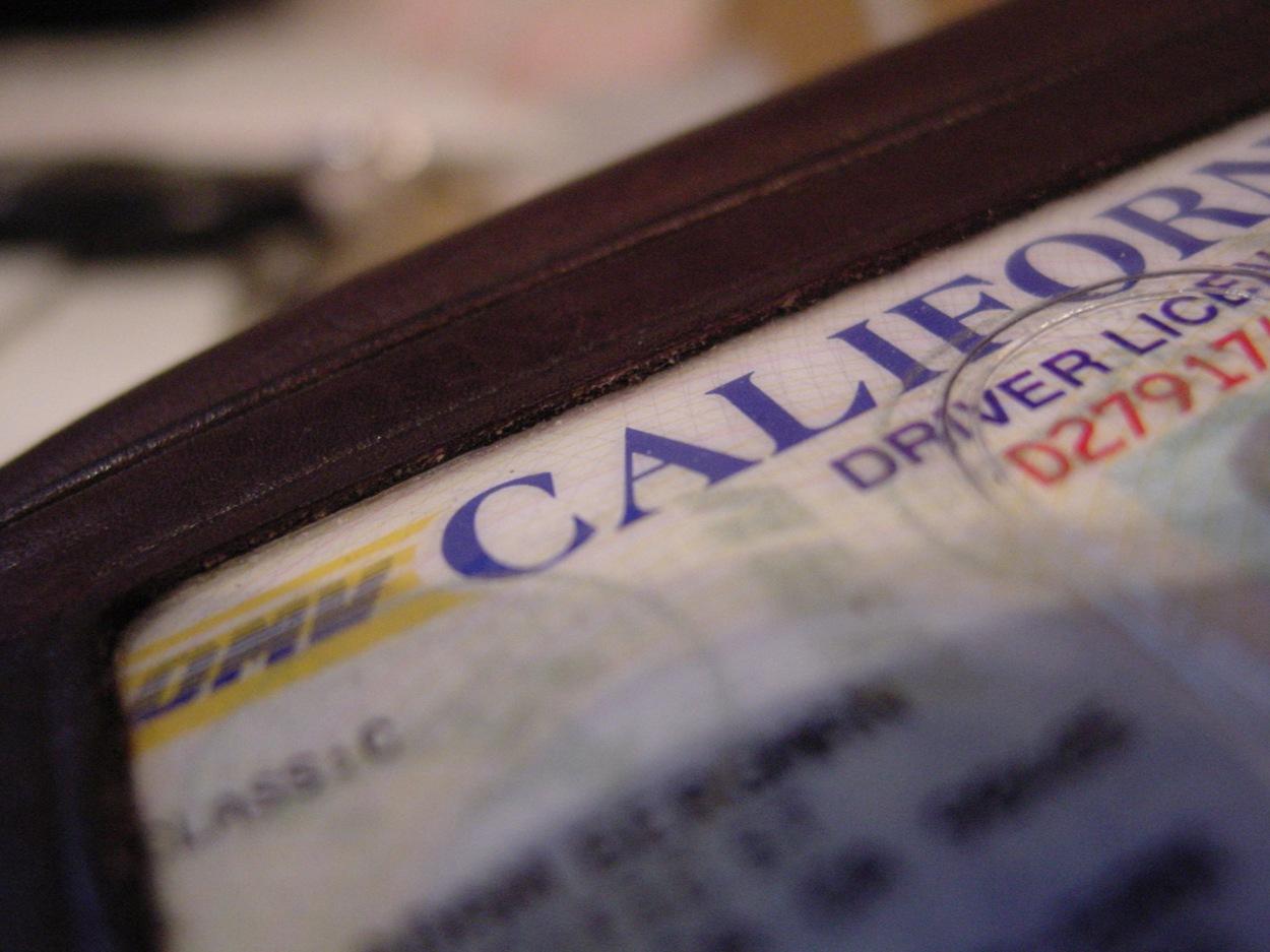 US Driver's License. Photograph, Hal Bergman - iStock Photos.