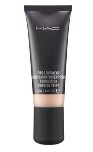 A tube of Mac Pro Longwear Waterproof Foundation.