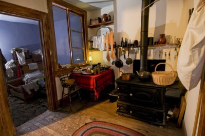 Moore apartment kitchen, The Tenement Museum.