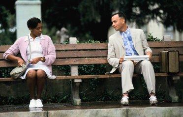 Forrest Gump on bench