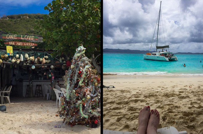 One Love Bar on Jost Van Dyke.