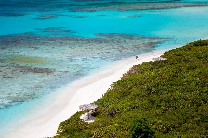 Savannah Bay in Virgin Gorda, one of the beautiful islands visited on Windstar Wind Surf cruise ship