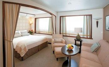 A suite on Wind Surf. Windstar Windsurf ship suite