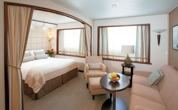 A suite on Wind Surf. Windstar Windsurf ship suite