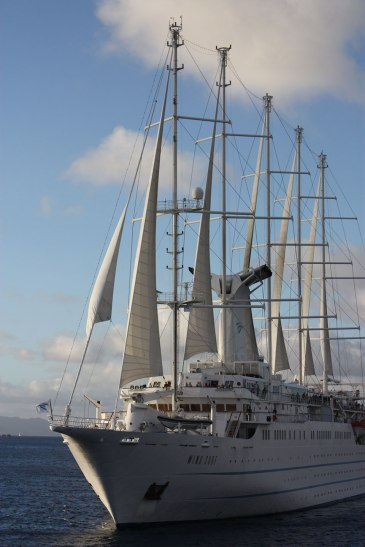 Windstar WindSurf sailing ship
