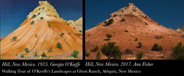 O'Keeffe Landscape tour