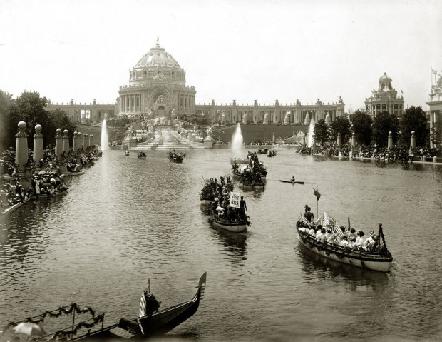 Lagoon at the St Louis World's Fair