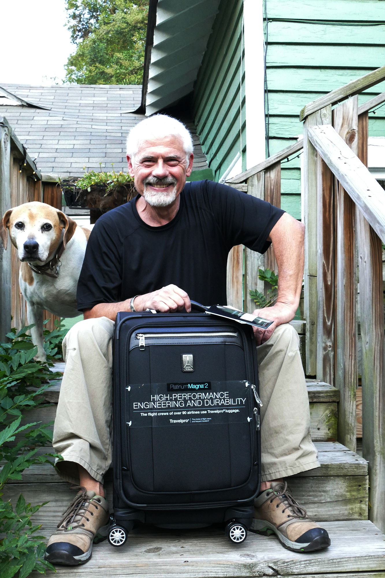 John Drew Wins Summer Luggage Drawing – Ann Cavitt Fisher