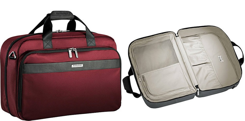 Briggs and Riley Transcend clamshell tote