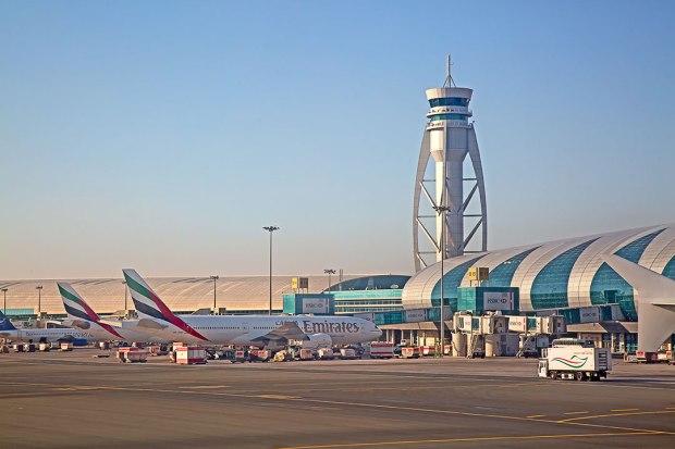 Dubai Airport exterior