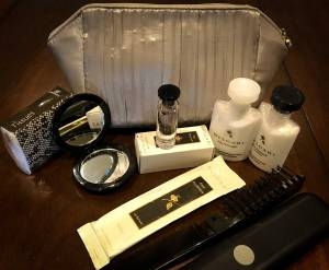 Emirates Business Class Bulgari Amenity package
