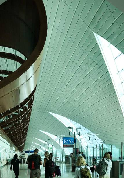 Interior of Dubai Airport