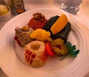 Emirates Business Class Food